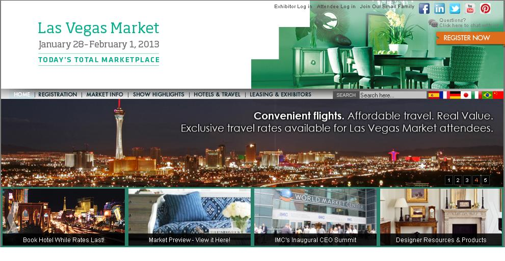 Furniture Show Las Vegas Market 2013 Trade Show News Trade Show Calendar Trade Show Services