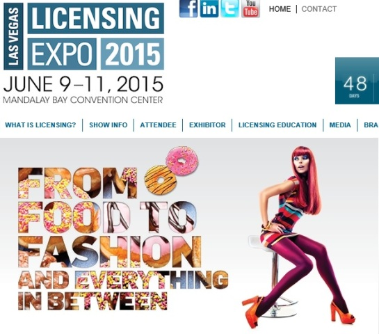 June Calendar Las Vegas : Licensing expo las vegas june trade