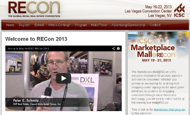 ICSC RECON SHOW 2013 Las Vegas