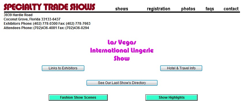 Lingerie Show 2013 Las Vegas