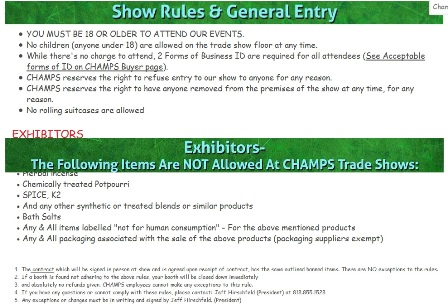 Champs2014 exhibitors