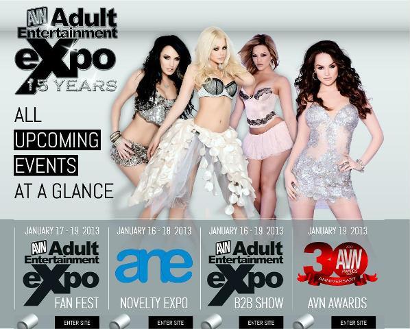 Adult entertainment tradeshow photo