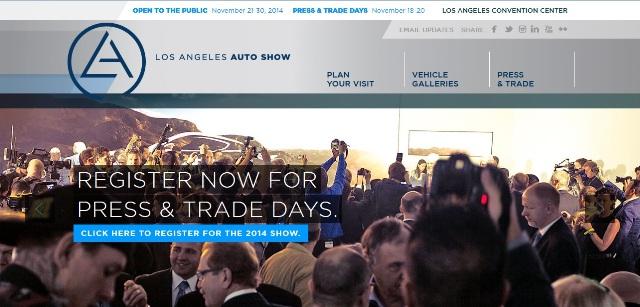 LA Auto Show 2014