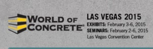 World of Concrete 2015 name